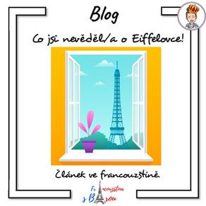 Co jsi nevěděl/a o Eiffelovce !