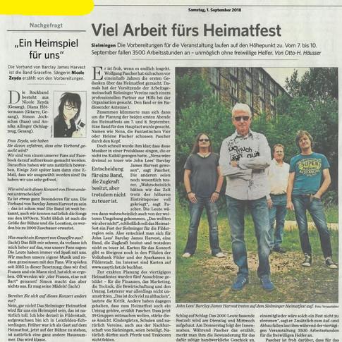 Gracefire - Stuttgarter Zeitung
