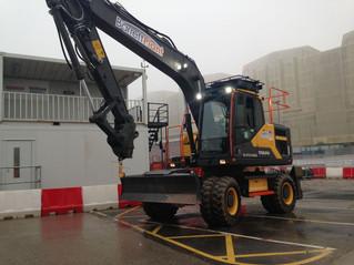 New Volvo EW160E 16 ton wheeled excavator!