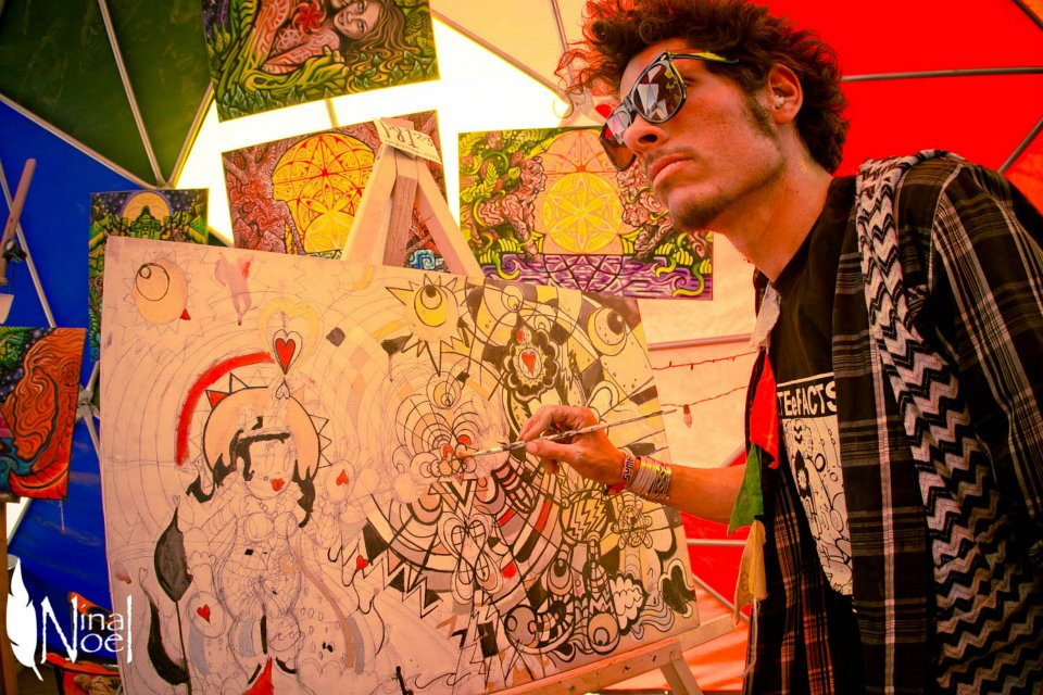 LIVE Painting @ Symbiosis 2012