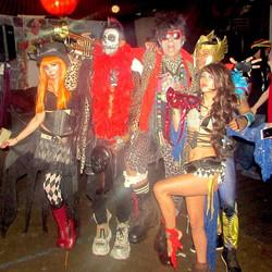 Halloween performance @ Mission