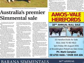 Australia's premier Simmental sale