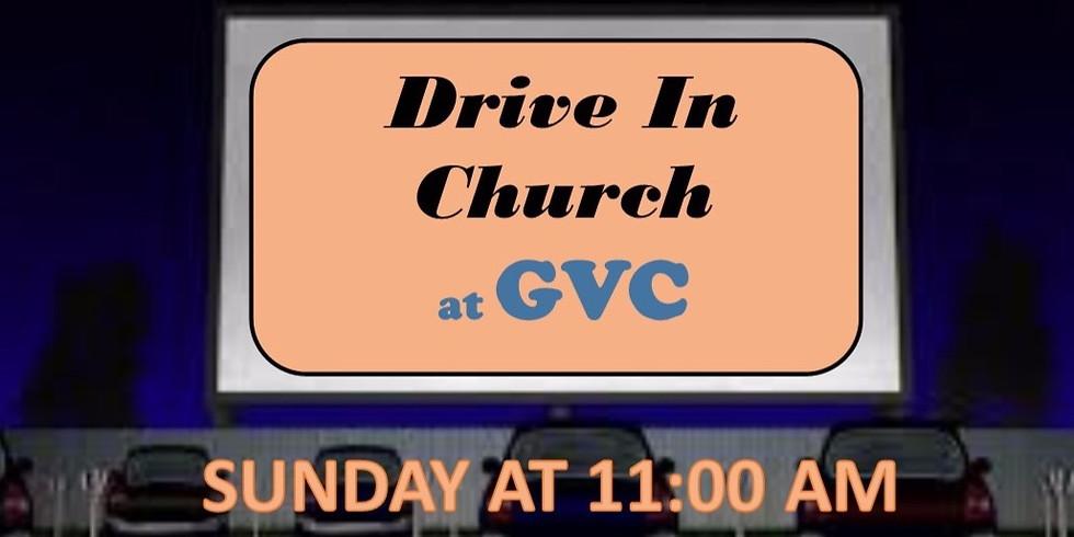 Drive In Church 3/29/2020