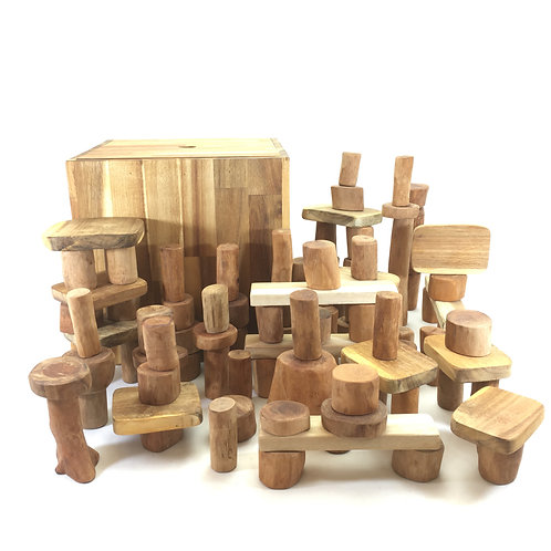 106 Piece Wooden Block Set