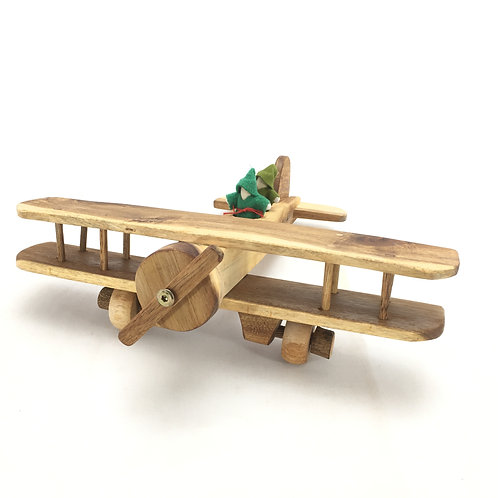 Lichee Toys Bi-Plane