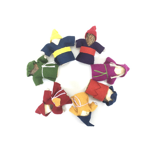 Multicultural Gnome Set