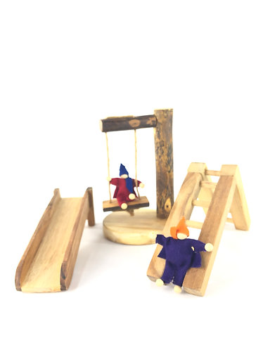 Playground Set with Two Elves