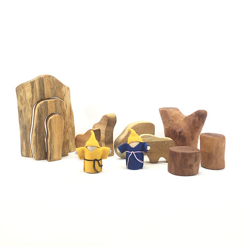 Animal and Cave set