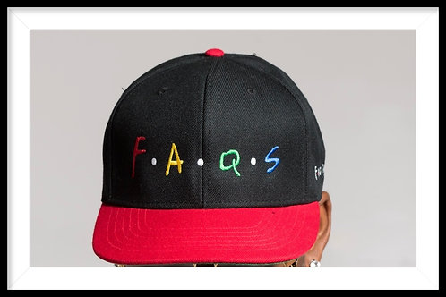 Faqs OG Black and Red Snap Back