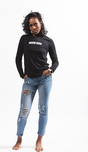 Womans Creative Genius Long Sleeve