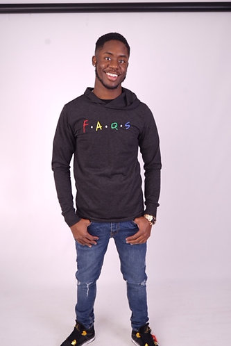 Faqs Slim Fit Pull Over