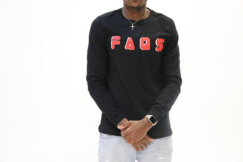 Vintage Faqs Long Sleeve