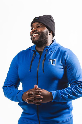 Crenshaw Blue Track Suit