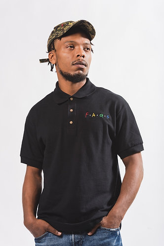 Men's Black OG Polo