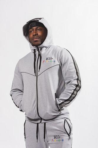 Big Faqs Grey Track Suit
