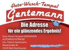 Auto-Wasch-Tempel Gentemann