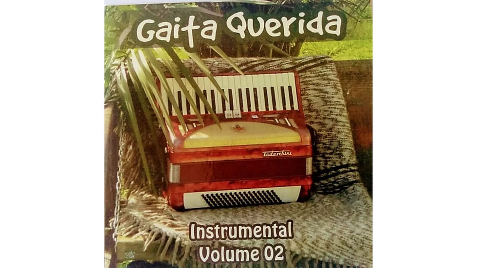 CD Gaita Querida - Instrumental Volume 2