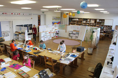Der Klassenraum der Primaria und Vorprimaria