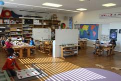 Der Klassenraum der Primaria