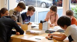 Kunsteinheit der Primaria-Schüler