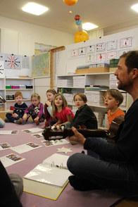 regelmäßiges Musizieren mit allen Schülern