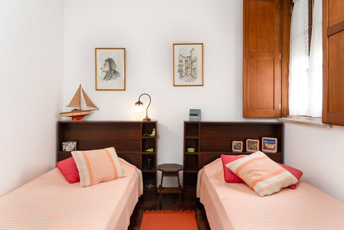 Pink room, upper floor