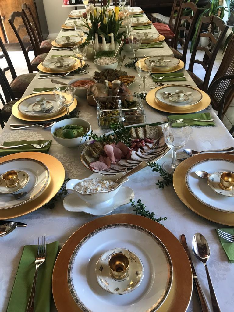 Nasz stół wielkanocny