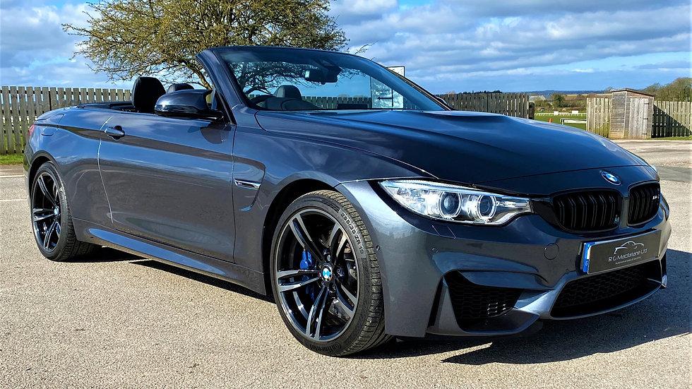 2016 (66)  BMW M4  Convertible