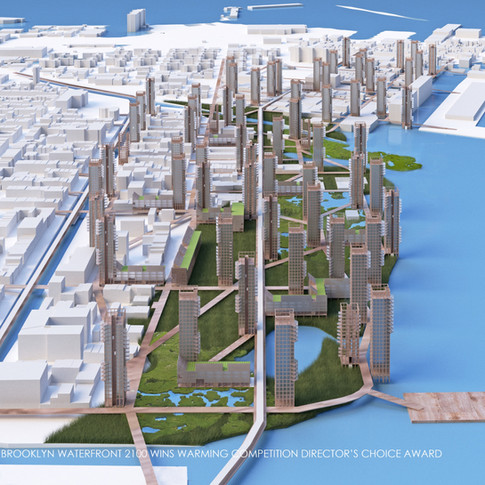 URBAN WATERFRONT 2100 wins Warming Competition's 2020 Director's Choice Award