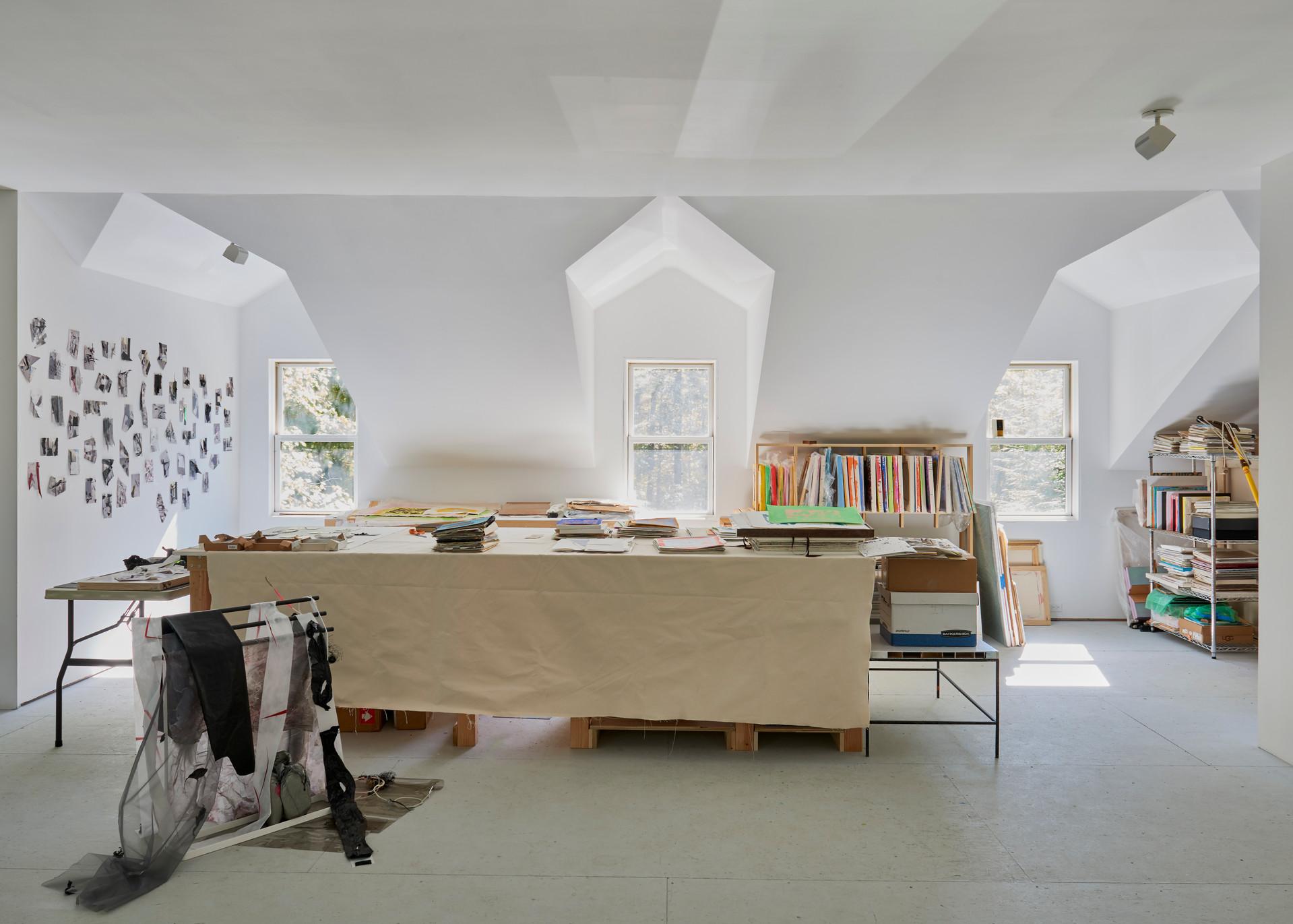 renovated attic studio
