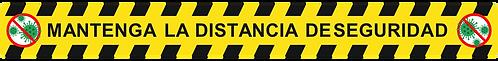 Vinilo Seguridad Rectangular  (5 Unds) Ref. ADVTO01