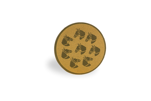 Disco Medalla Hípica Ref. 24
