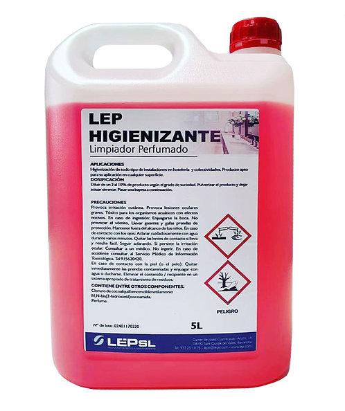 Higienizante Limpia Superficies 5L Ref. HIG5LSU