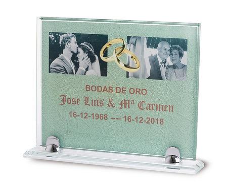 Placa Cristal Ref. 2650