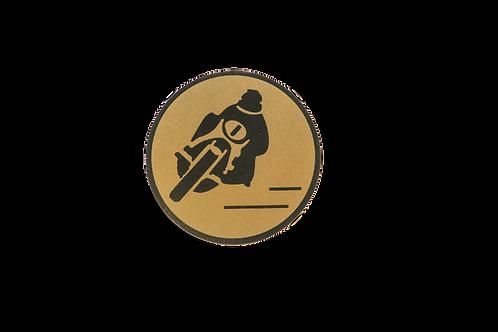 Disco Medalla Moto Ref. 09