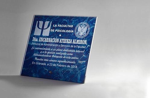 Placa Cristal Ref. 1342
