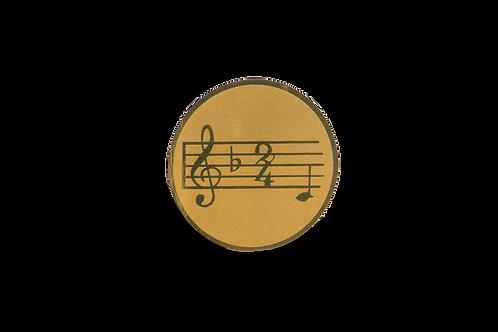 Disco Medalla Música Ref. 26