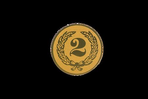 Disco Medalla Número 2 Ref.36
