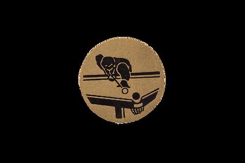 Disco Medalla Billar Ref. 19