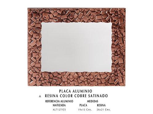 Placa  Resina Ref. 7127/CS