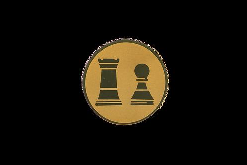 Disco Medalla Ajedrez Ref. 27