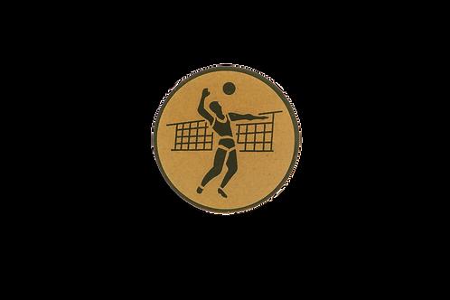 Disc Medalla Voleibol Ref. 04