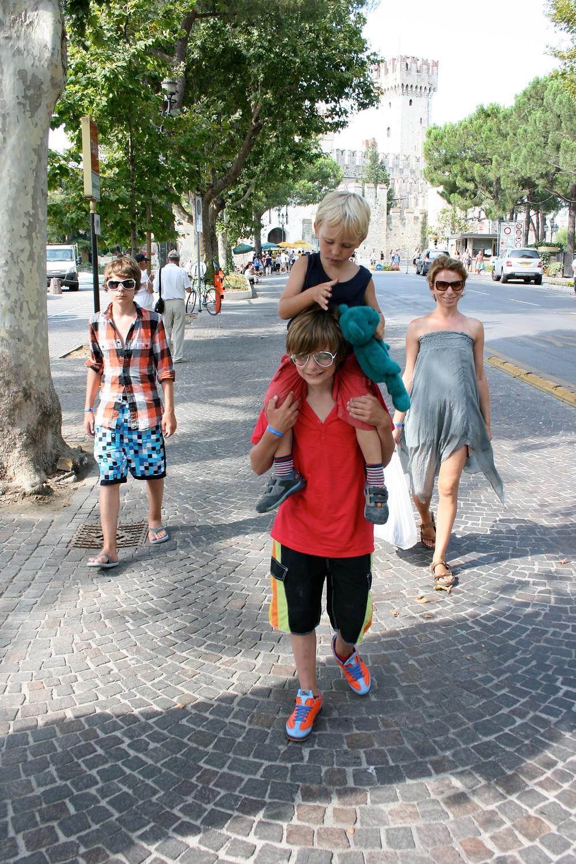Skip Oliver and her children