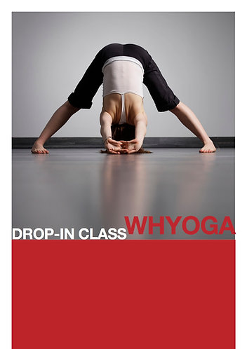 whYoga All Levels Drop-in E-Gift Voucher (incl. Pregnancy)