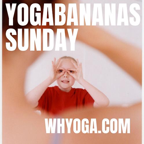 Live Streaming Children's Yoga - Sun 11-11.30am