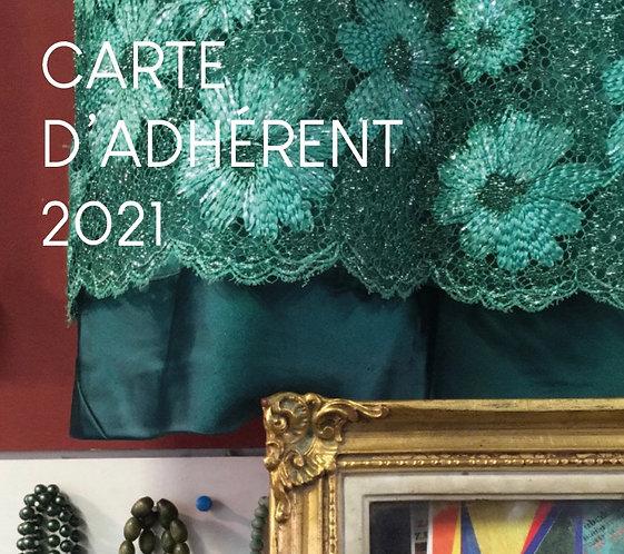 CARTE D'ADHERENT 2021