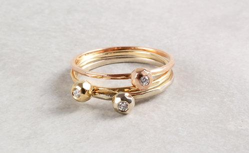 Ring Mini Brillant | Kollektion Bubble