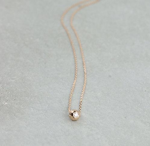 Halskette I Mini Bubble Roségold