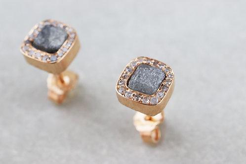 Ohrringe Rohdiamant | Unikat