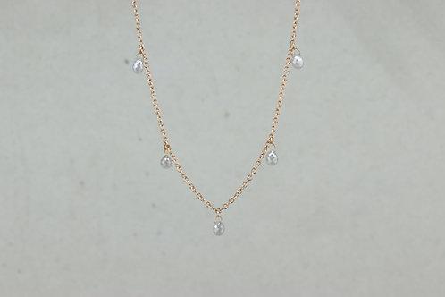 Halskette I Graue Diamanten